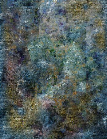 gloomy: Figured glass in gloomy colors