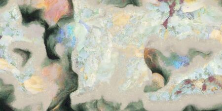 muted: Muted Abstract Painting