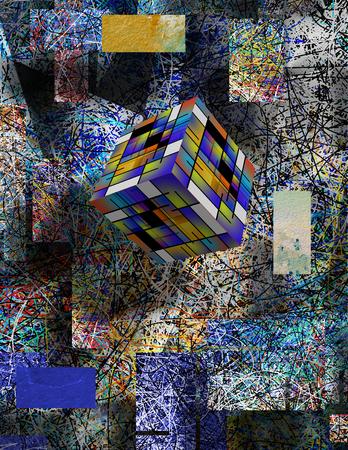 futurist: Abstract 3d