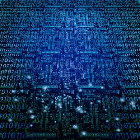 Machinelanguage and circuit background
