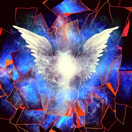 angelic: Angelic Wings Abstraction