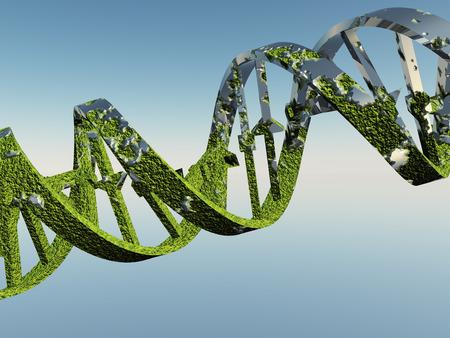 Beschädigte DNA-Stränge
