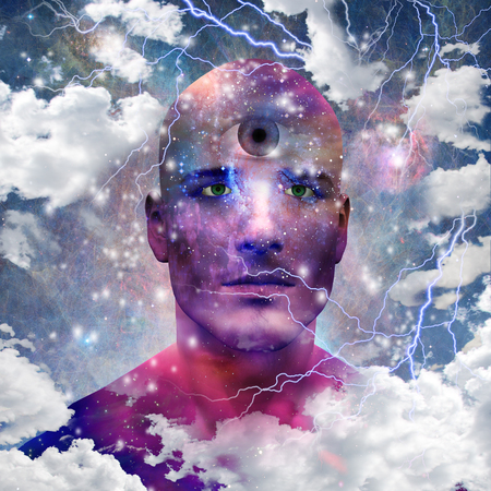 subconscious: Star man with third eye