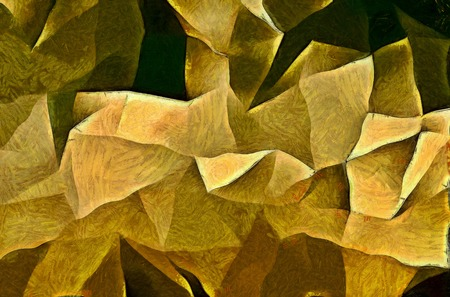 painterly: Painterly Angular Forms Stock Photo