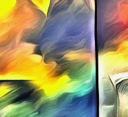 muted: Vivid Abstract Painting