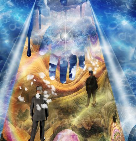 artisitic: Imaginary Fantasy Stock Photo