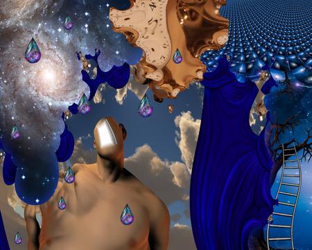 mente humana: Humanos, elementos de tiempo y de la mente