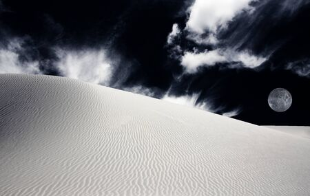 unrealistic: White Sands New Mexico USA Desert Landscape