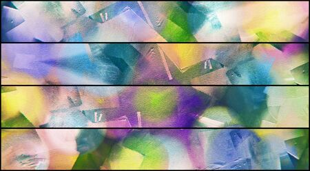 pastel colors: Abstract Painting