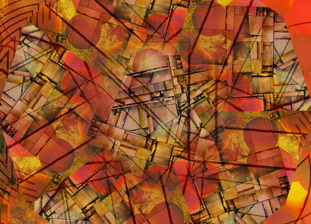 abstract paintings: Vivid Abstract
