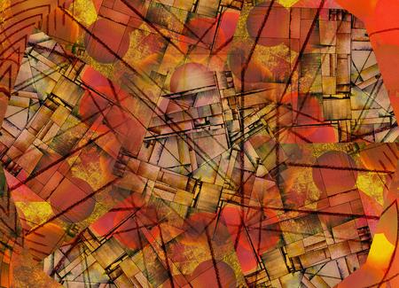 cuadros abstractos: Vivid Resumen