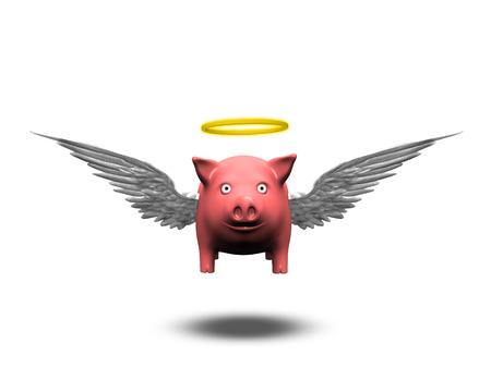 Angelic Pig