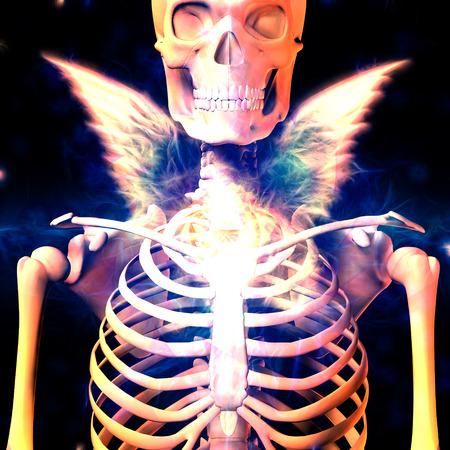 Dark Angel Stok Fotoğraf