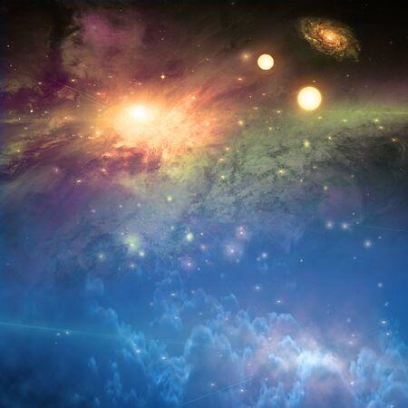 escena de espacio profundo