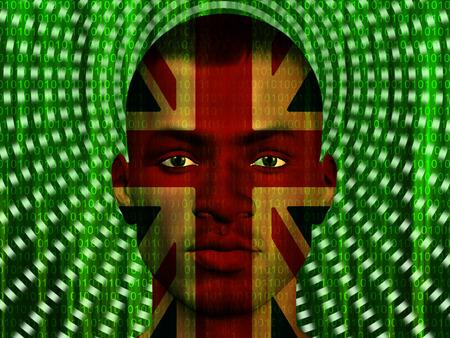 bandera de gran bretaña: El hombre moderno Reino Unido