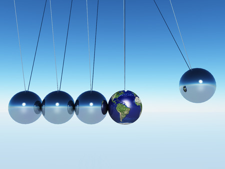 pendulum: Swing of the pendulum.