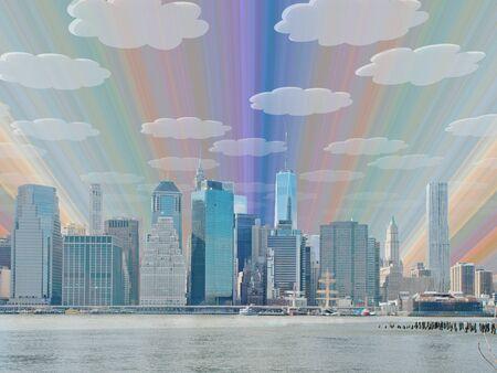 panorama city: NYC Landscape