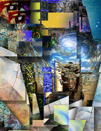 Metaphysical Abstract Stock Photo