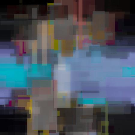 pintura abstracta: Pintura geométrica abstracta.