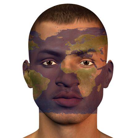 britannia: World man Stock Photo