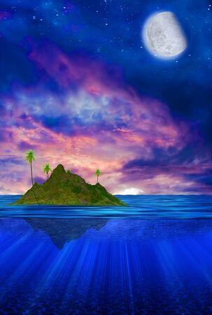 plateau: Floating Tropical Island