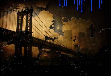 Brooklyn Bridge NYC Painting
