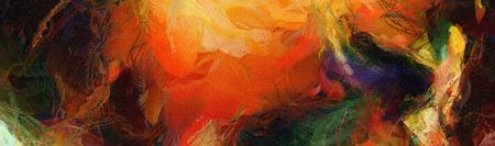 pintura abstracta de colores.
