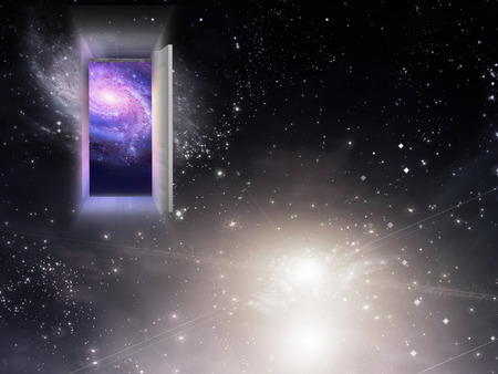 astral: Entrance Exit Stock Photo