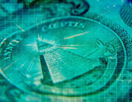 money background: Artistic Grunge Money Concept Background