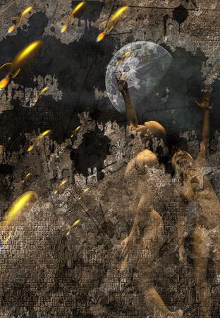 battle: Sci fi art