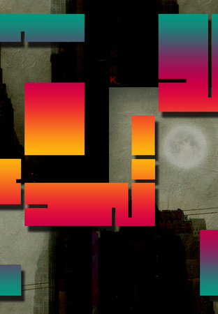 arte moderno: Arte Moderno Inspirado Diseño Geométrico