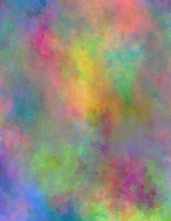 vivid colors: Abstract painting in vivid colors.