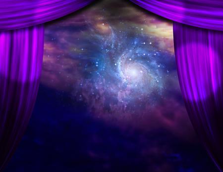 銀河のステージ 写真素材 - 74866057