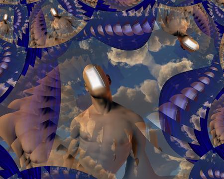 Doorway in Human Mind and Sky