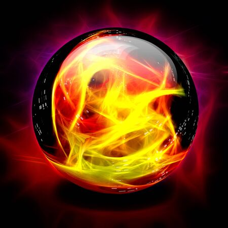 psychic: Crystal Ball Fire