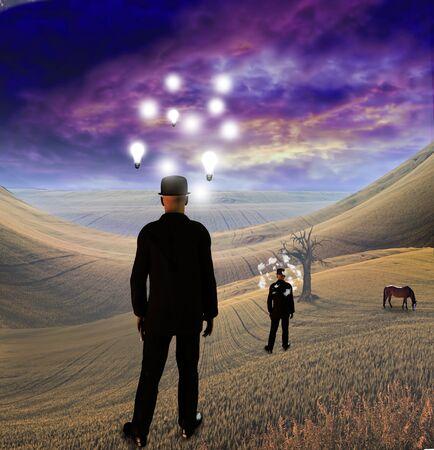 psyche: Mystery landscape