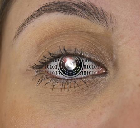 デジタルの目。
