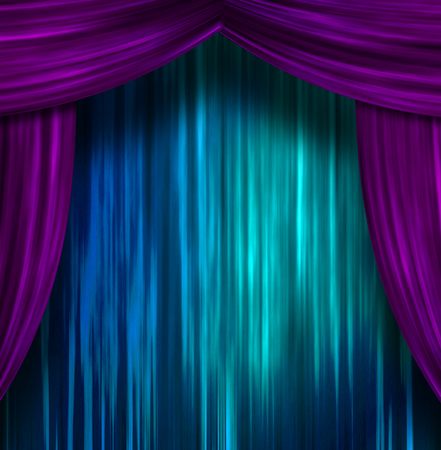 theatrical performance: Theater Curtains