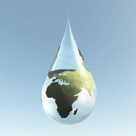 gaia: Droplet Africa Asis