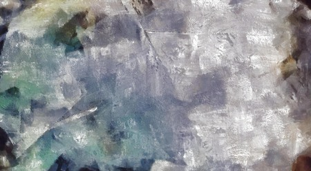Abstract painting. Brush strokes in muted colors.