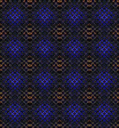 Seamless background. Abstract kaleidoscopic pattern