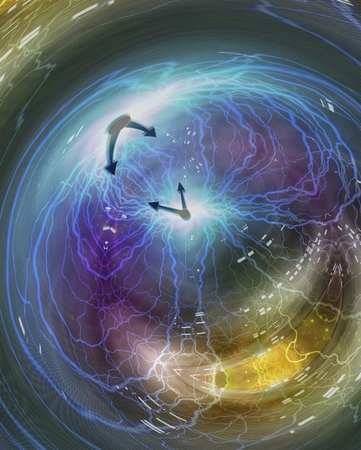 Weaving time spirals through energetic space