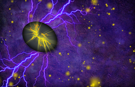 Cracked Stone Emits Light and Radiates Electricity