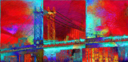 Modern Abstract, Vicent Van Gogh style