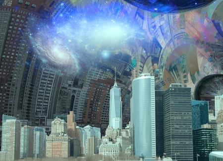 New York Surreal Landscape