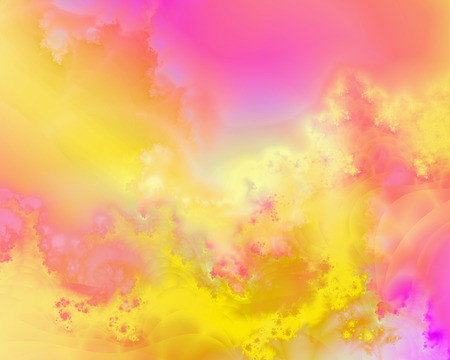 Colorful abstract background with fractals Stock Photo