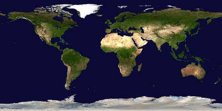 World's map. Satellite view Stock Photo - 112357036