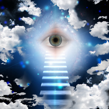 Stairway to all seeing eye