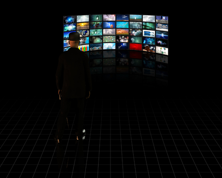 TV Screens with viewer