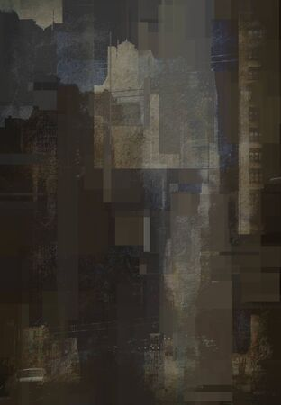 New York Downtown Abstract Background